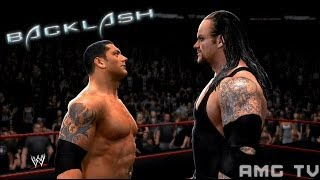 WWE 2K14 - Batista vs The Undertaker | Backlash 2007 Promo