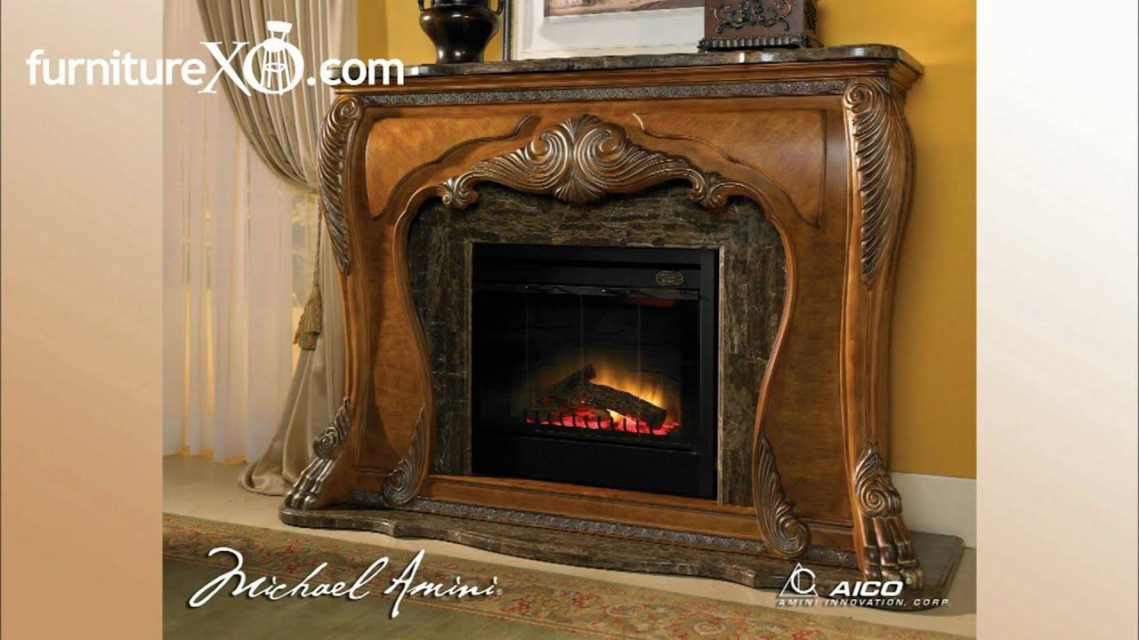 Eden Collection By Aico Furniture In Amaretto Finish Youtube