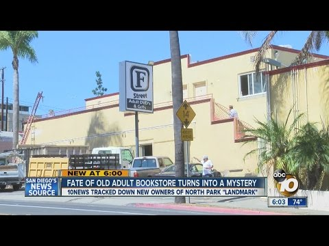 Fate Of Shut-down Adult Bookstore In North Park Sparks Excitement, Worry And Mystery