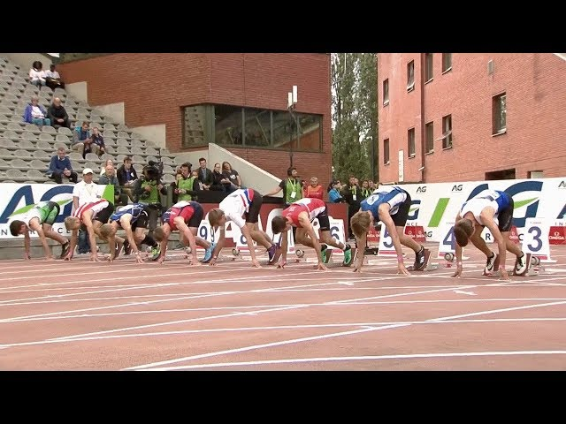 Stan Servaes - 100 m - Youth Memorial Van Damme 2019