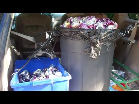 Recycling Aluminum Cans Vlog