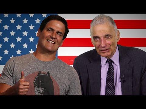 Ralph Nader sees potential in a Mark Cuban presidential bid