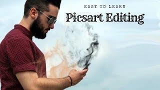 Picsart tutorial   smoke effect editing   picsart editing   crockkk daavel