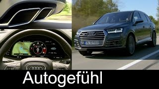 Audi SQ7 Sound, Technology, Exterior/Interior Preview all-new sports SUV