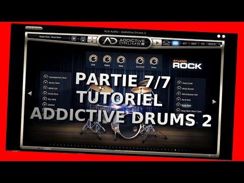 """Addictive Drums 2 - Dernière partie du tutoriel - Partie 7/7 Le menu """"Informationt"""" - fr"""