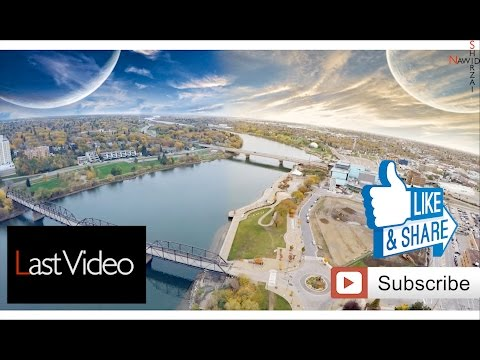 Saskatoon Through a Drone. Part 1