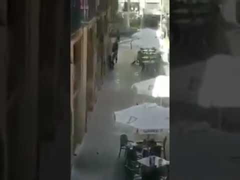 Police Hunt for Terrorists in Barcelona
