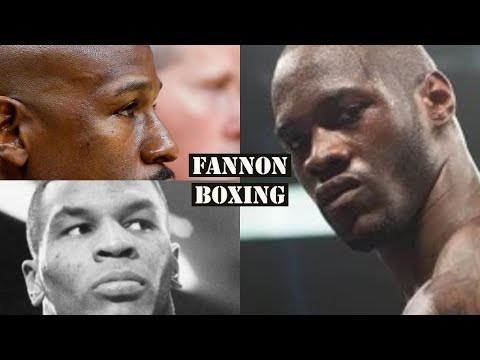 "DEONTAY WILDER BLASTS FLOYD MAYWEATHER AND MIKE TYSON AS ""HATERS"""
