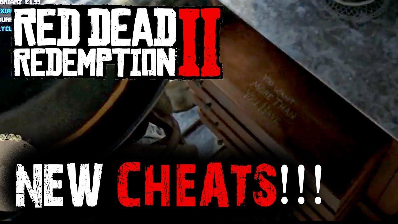 red dead redemption 2 cheats invincibility