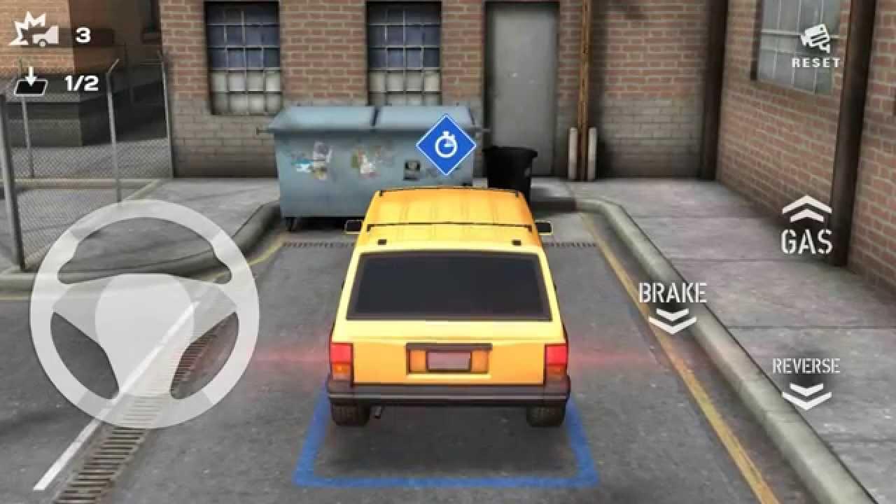 Backyard Parking 3D Jeep Gameplay HD