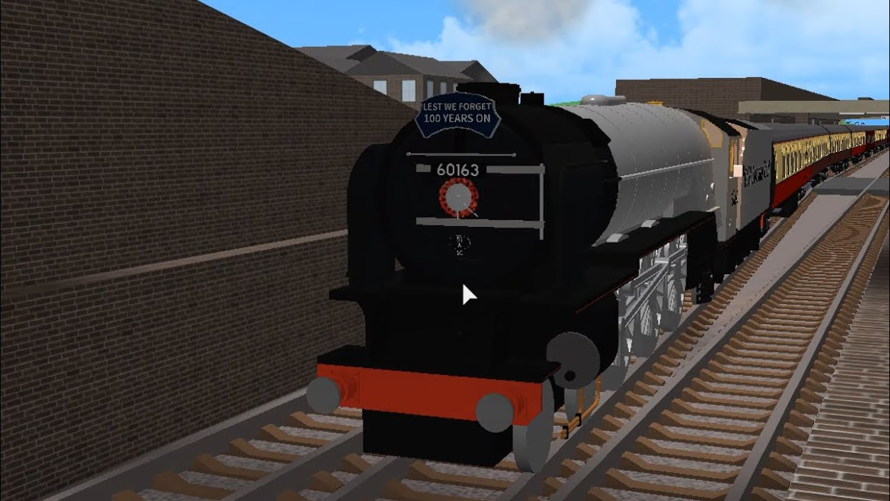 Roblox Steam Train Whistle A1 Tornado Visits Gcr Grand Continental Railways Roblox By Kieranhendy