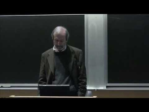 50 years of Linguistics at MIT, Lecture 3