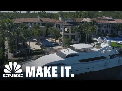 Inside A Cuban Coffee Mogul's Miami Mansion | CNBC Make It.