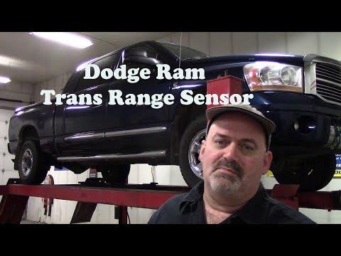 Dodge Ram Wont Start No Crank Range Sensor Code P2121 P2122 - YouTube