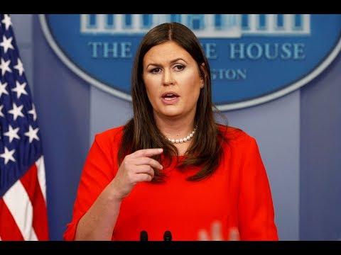 🔴WATCH: White House Press Briefing w/ Sarah Sanders - 3/27/17