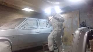 Покраска авто компрессором AURORA gale-50