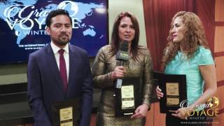 Global InterGold líderes: Ericka Solano, Lucero Blásquez y Víctor Abad