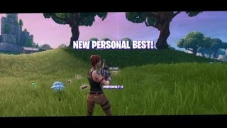 Fortnite, How to get high score in horde rush solo