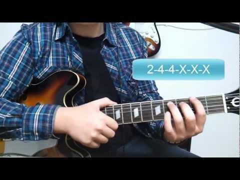 Como Tocar The Hell Song de Sum 41 - Tutorial HD - How to Play - FermiGuitarra