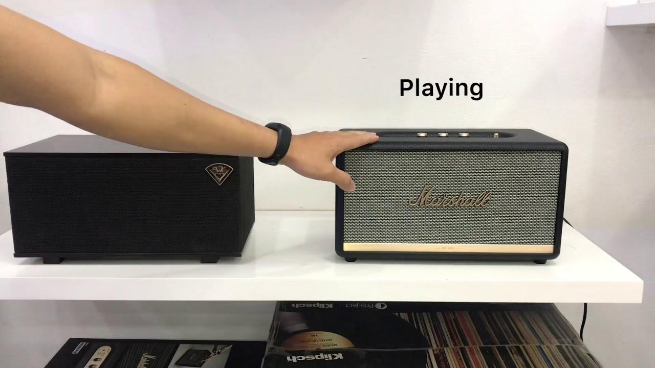 Klipsch the Three vs Marshall Stanmore II | So sánh loa, test và đánh giá âm thanh