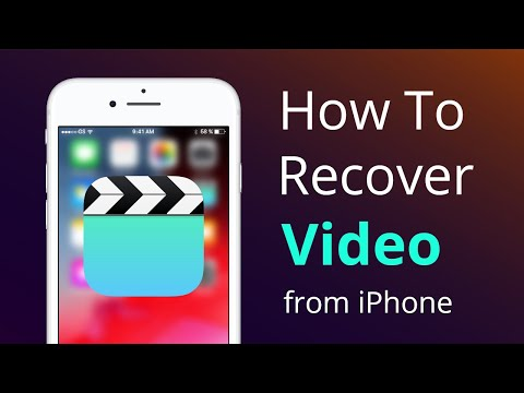 How to Recover Deleted Videos from iPhone With/Without Backup [4 Ways]