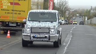 2019 Mercedes G-Wagon spied testing at the Nürburgring thumbnail