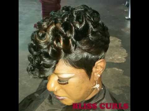 styles for short african hair bliss curls 3514 | hqdefault