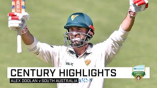 Dominant Doolan doubles up with fourth-innings 100 | Marsh Sheffield Shield 2019-20