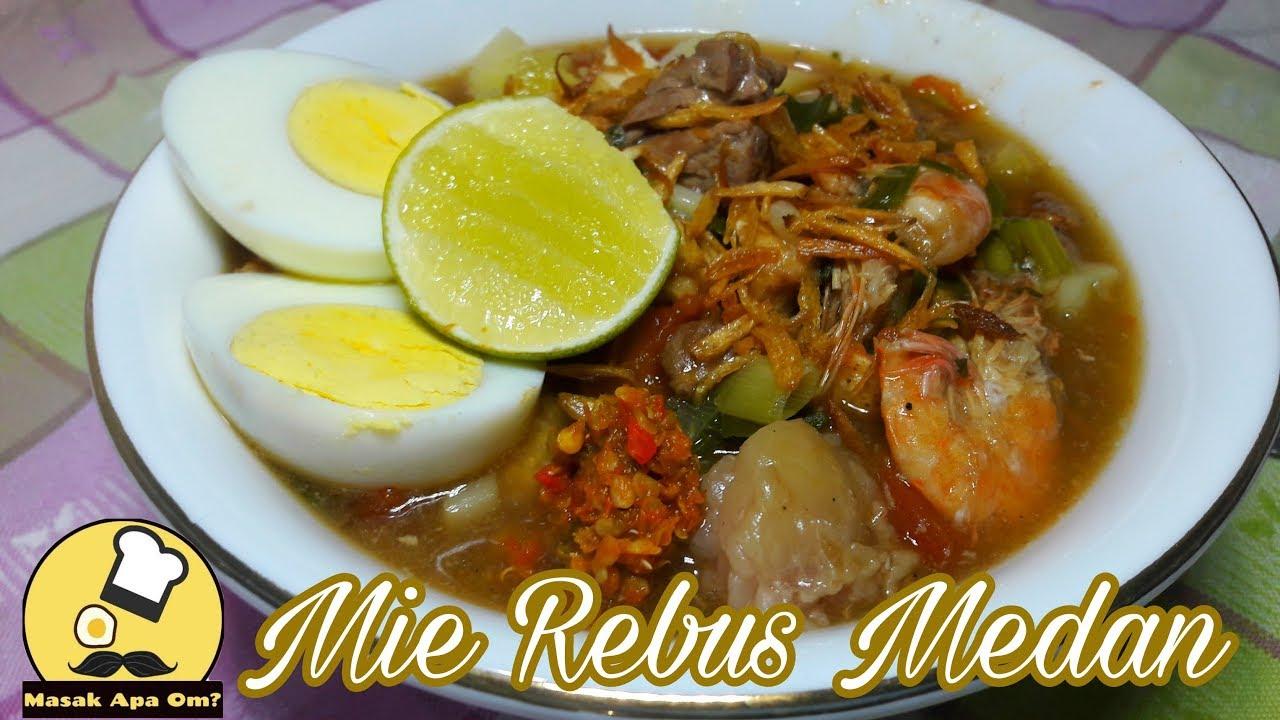 Hasil gambar untuk Mie rebus Medan.