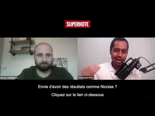 Mon interview avec Mathieu - SuperHote #superhote #MathieuSuperhote