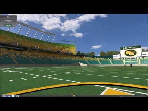 VirtualStadiumTour (CFL) - Commonwealth Stadium Edmonton (Edmonton Eskimos)