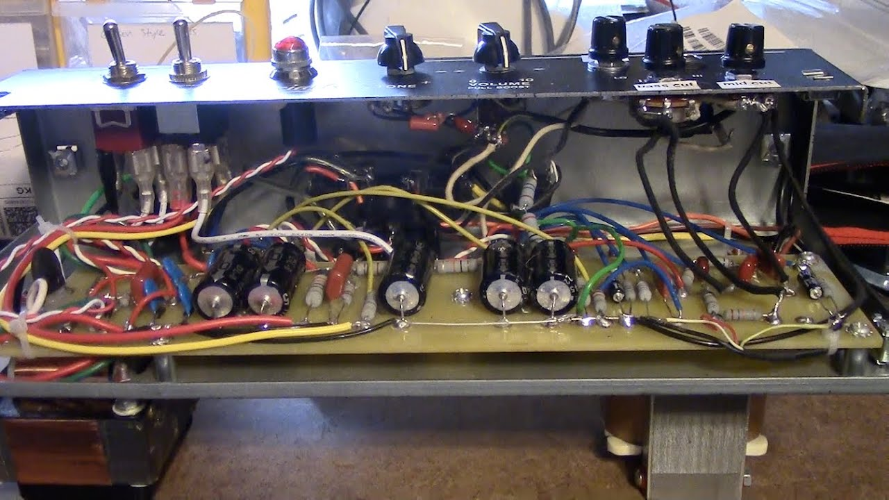 Vht special 6 mods overview & demo, power tube bias, b & mids, boost on