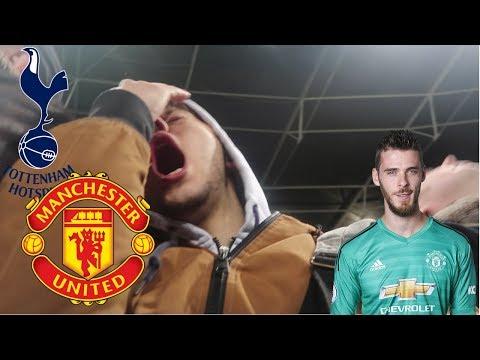 Match Day Vlog: Tottenham (0) vs Manchester United (1)| De Gea saving EVERYTHING