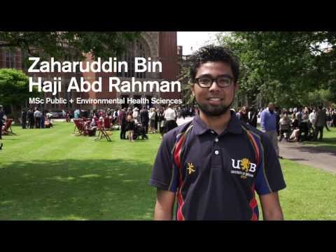 Students from Brunei at the University of Birmingham
