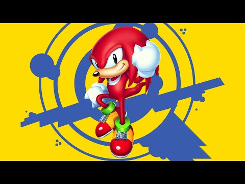 Knuckles plays Sonic Mania! |
