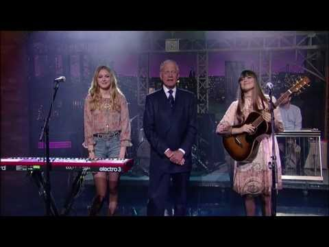 First Aid Kit - Emmylou on Late Show with David Letterman