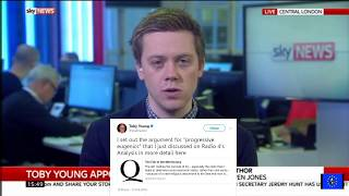 Tory nepotism and Toby Young's rancid tweets: Owen Jones vs Spiked Online