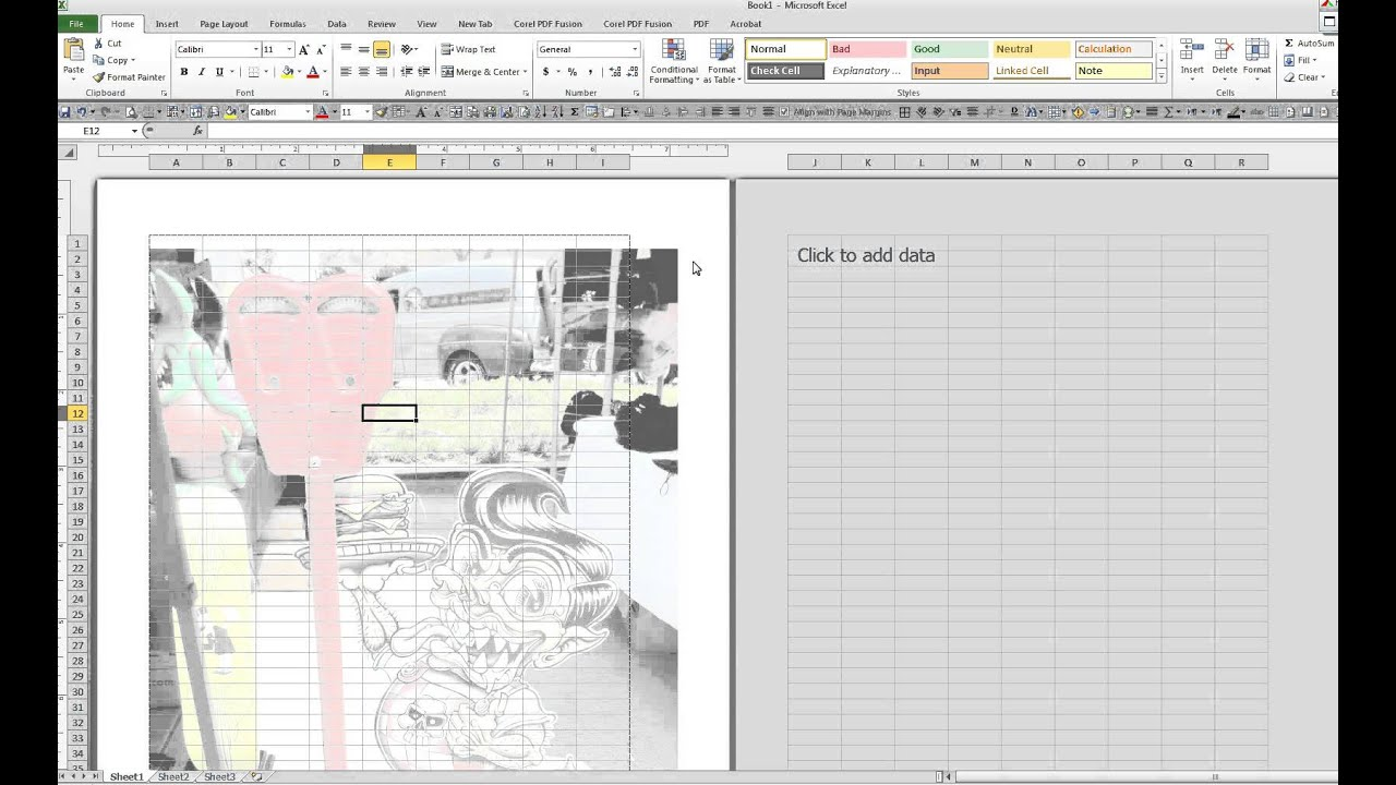 How To Place A Watermark In A Microsoft Excel Worksheet 8