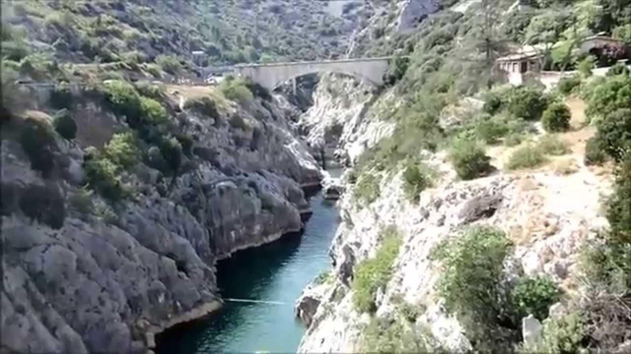 Pilou34 pr sente les gorges de l 39 h rault le pont du diable for Le miroir du diable