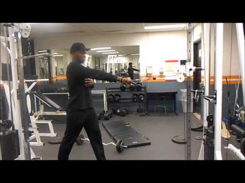 Standing One Arm Cable Row - Fumbi Fitness - Personal Trainer - Toronto, ON