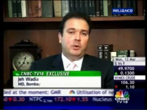 CNBC IBH - Mr. Jeh Wadia - MD, Bombay Realty