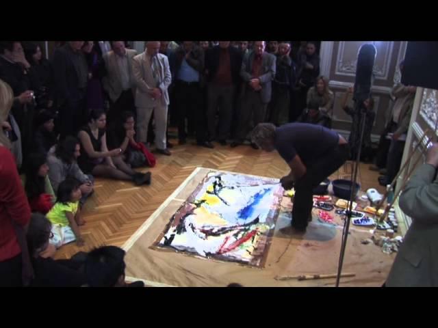 Performance y Concierto del Pintor cubano Alberto Lescay en Casa Lamm (2)