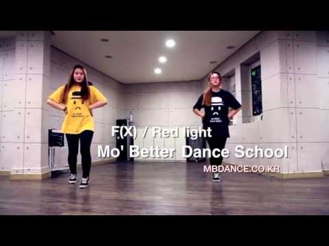 [모베러댄스] 에프엑스 - Red light 안무 거울모드 ( Fx - Red light cover dance mirror mode )(HD)