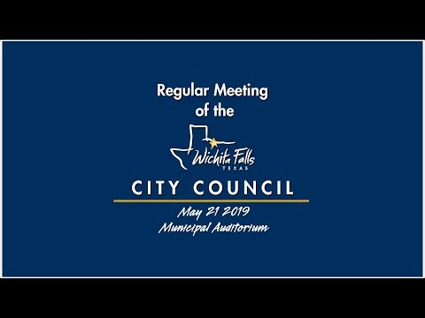 City Council Meeting 5-21-2019