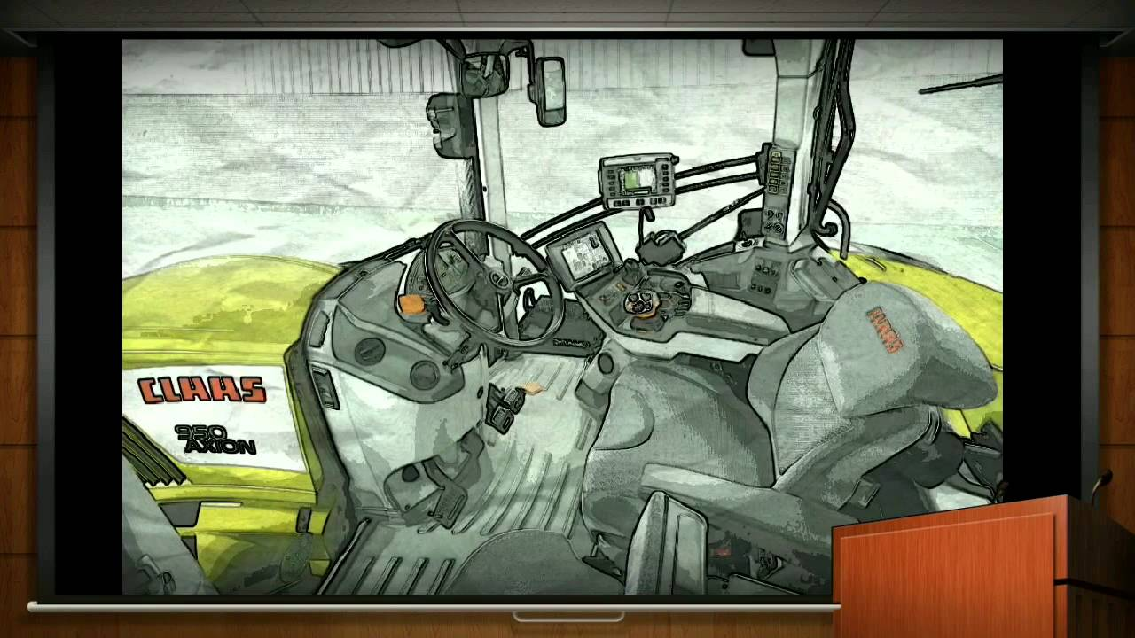 Dessin Tracteur Agricole Youtube