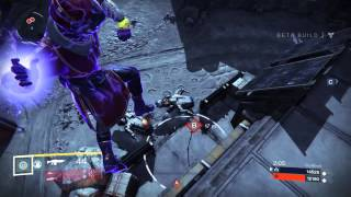 Destiny - Unbelievable Double Intercepter Kill from the Air