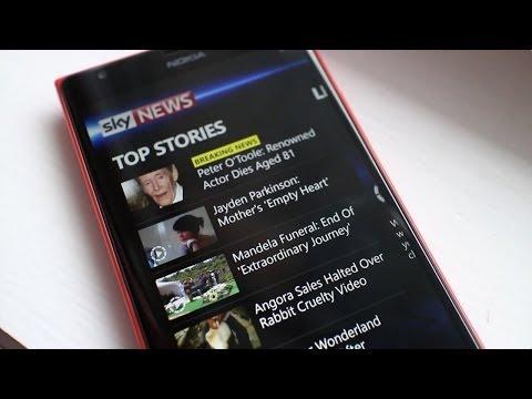 Sky News for Windows Phone