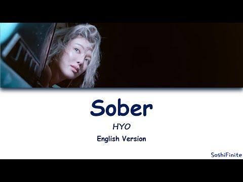 HYO 'Sober (Feat. Ummet Ozcan) Lyrics English Version