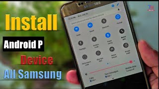 🔥Any Samsung Device Install Android P Amazing Trick Without Root TECHNICAL WORLD Arif