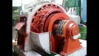 Motor de anéis 1750 Kw 4160 Volts - parte 01